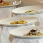 Tris di primi per menu catering matrimonio